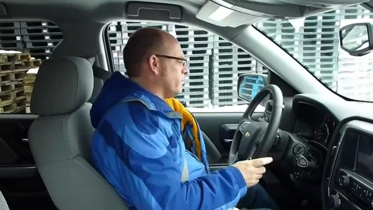 2014 Chevrolet Silverado Winter Tire Test