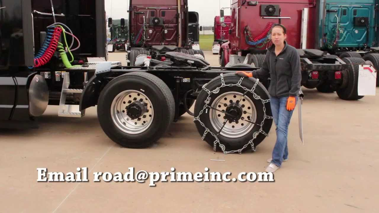 How to Install Tire Chains on Your Rig