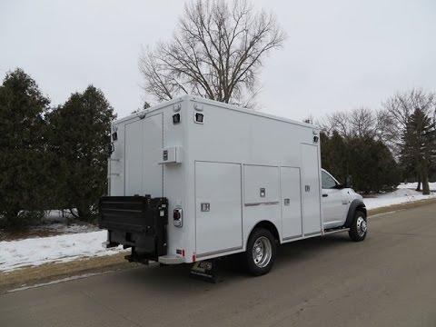 *SOLD* 2015 HD Road Service Body Dodge Ram 5500HD 4x4 Service Truck