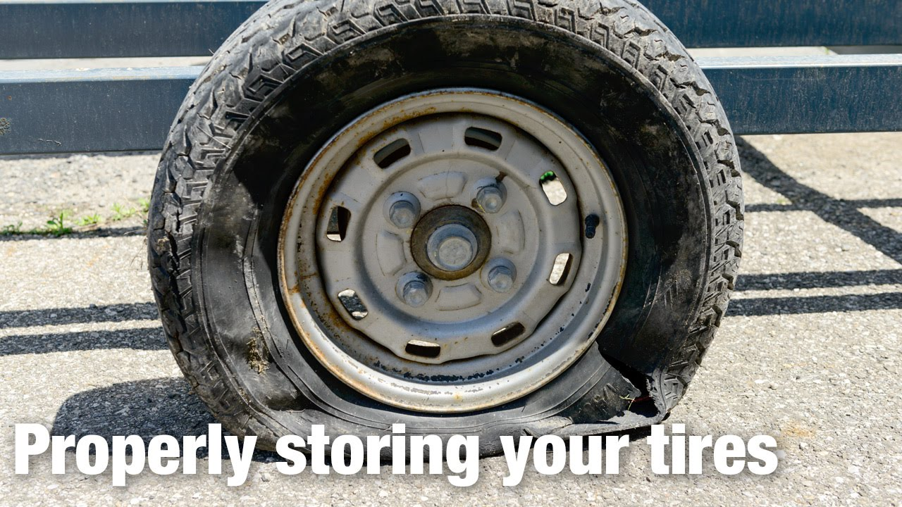Tips for Storing Trailer Tires