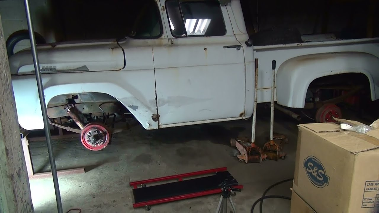 1958 ford #101 f100 truck repair rebuild pickup rust bucket by tatro machine