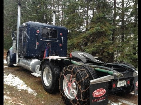 How To Chain Up a Big Rig Truck