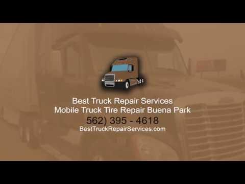 Mobile truck tire repair Buena Park