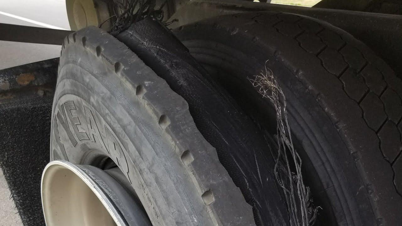 Waiting on Road Break Down For Tire Repair