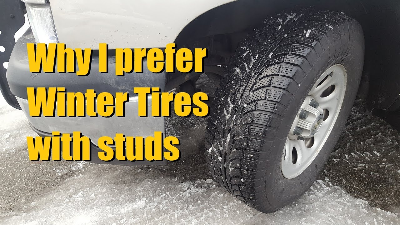 Why I use Studded Winter/ Snow Tires