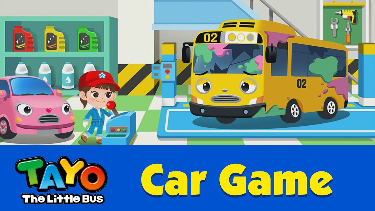 (EN) [Tayo Car Game] #10 Repair Truck