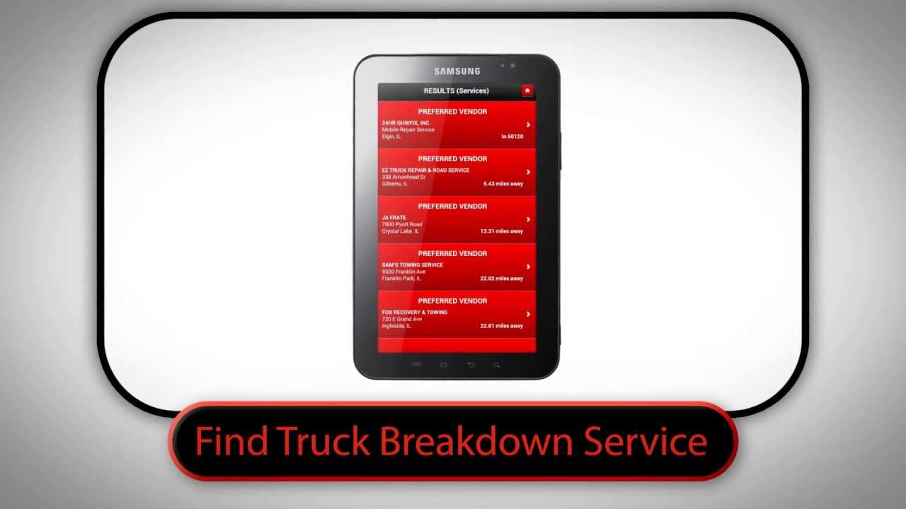 Truck Breakdown Service | Find Truck Service Heavy Duty Vendor Database