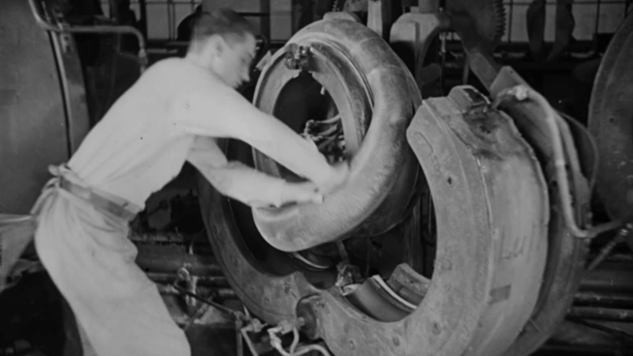 Continental - Tire Production - 1930's