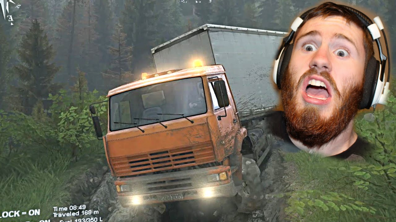 Spin Tires | New Adventure | Semi Truck vs Muddy Hills | Can we Make It?