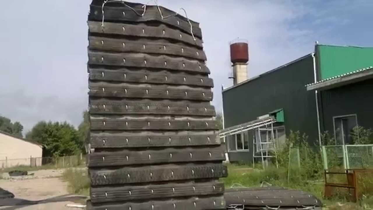 BLASTMAT.com Lifting truck tires blasting mats