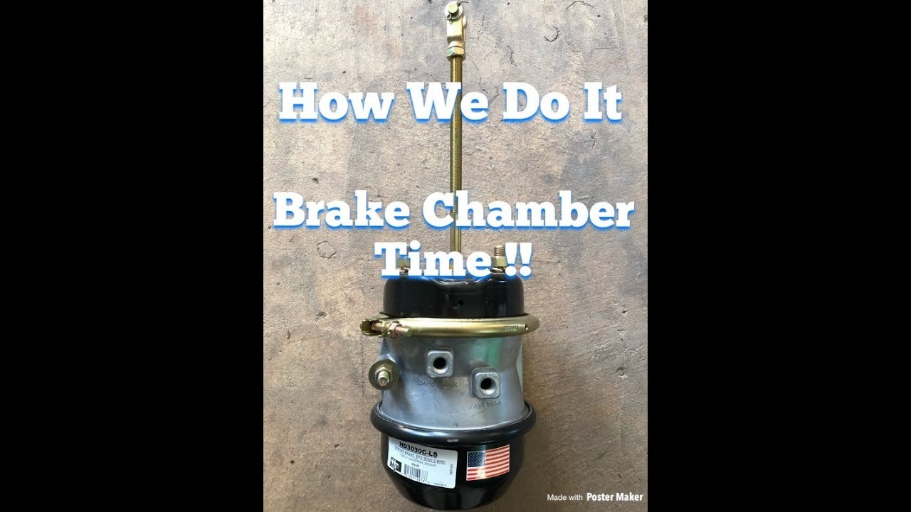 Brake Chamber Leak... and a soapbox