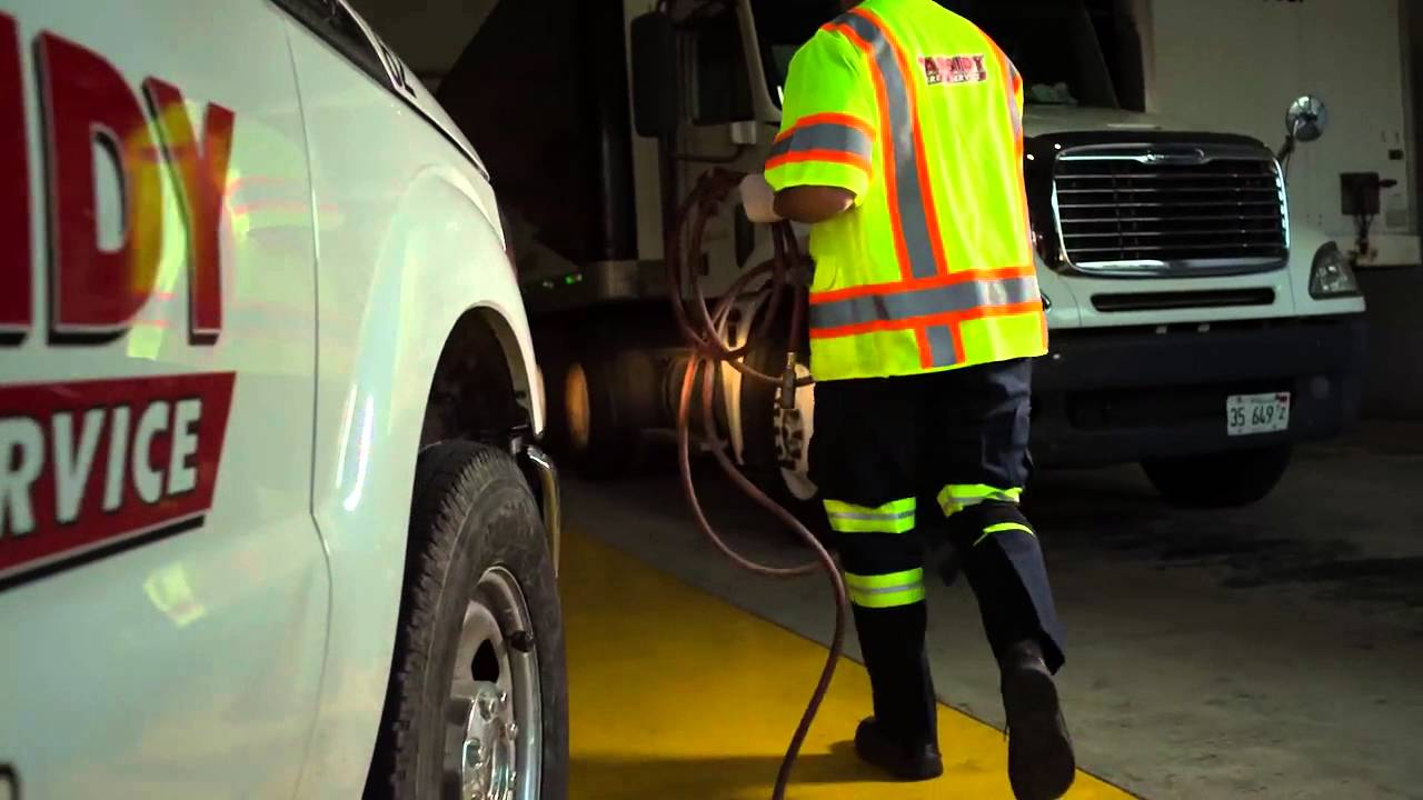 Cassidy Tire CTAP (Tire Audit Program) Trailer