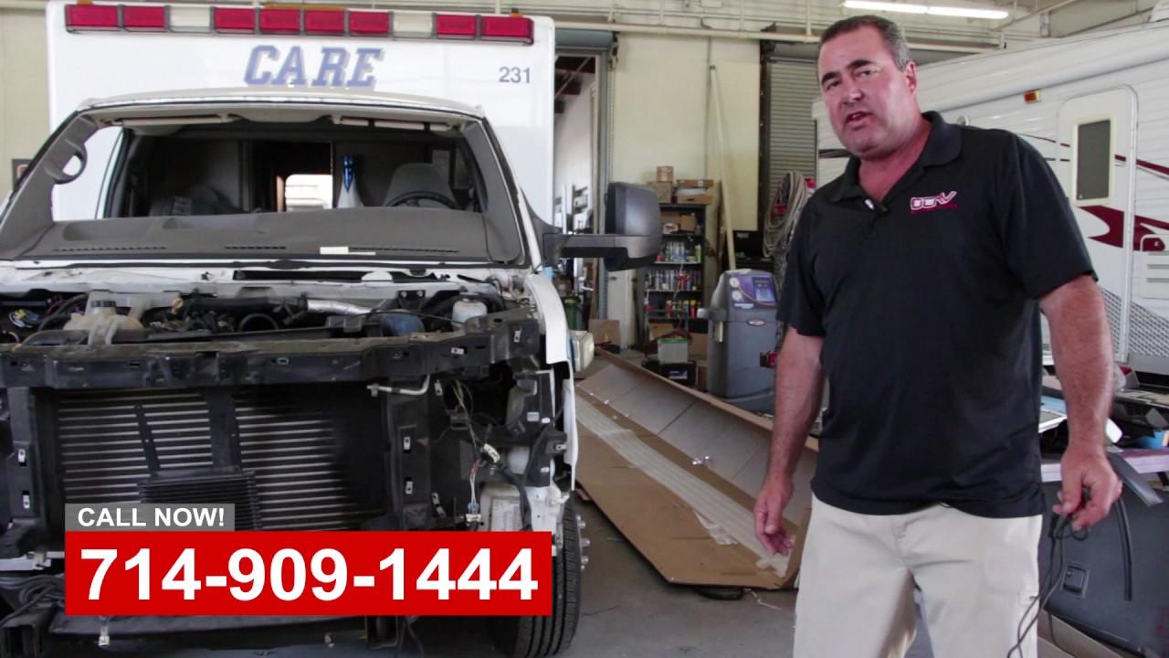 Commercial Truck Repair Shop Orange County