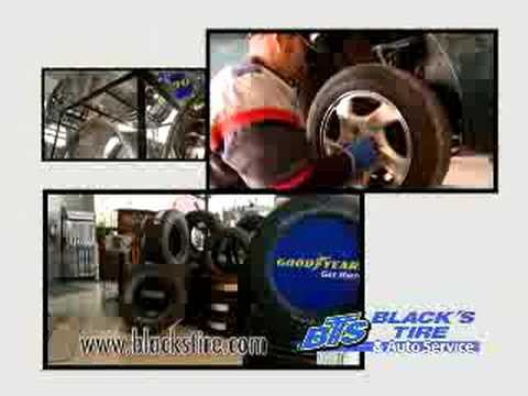 Cut and Dryed Commercial for Black's Tire Service