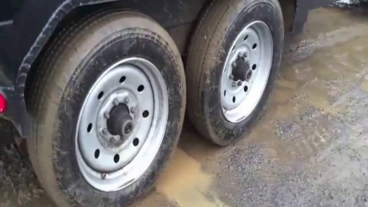 Double J Ended Dump Trailer Tire Problems