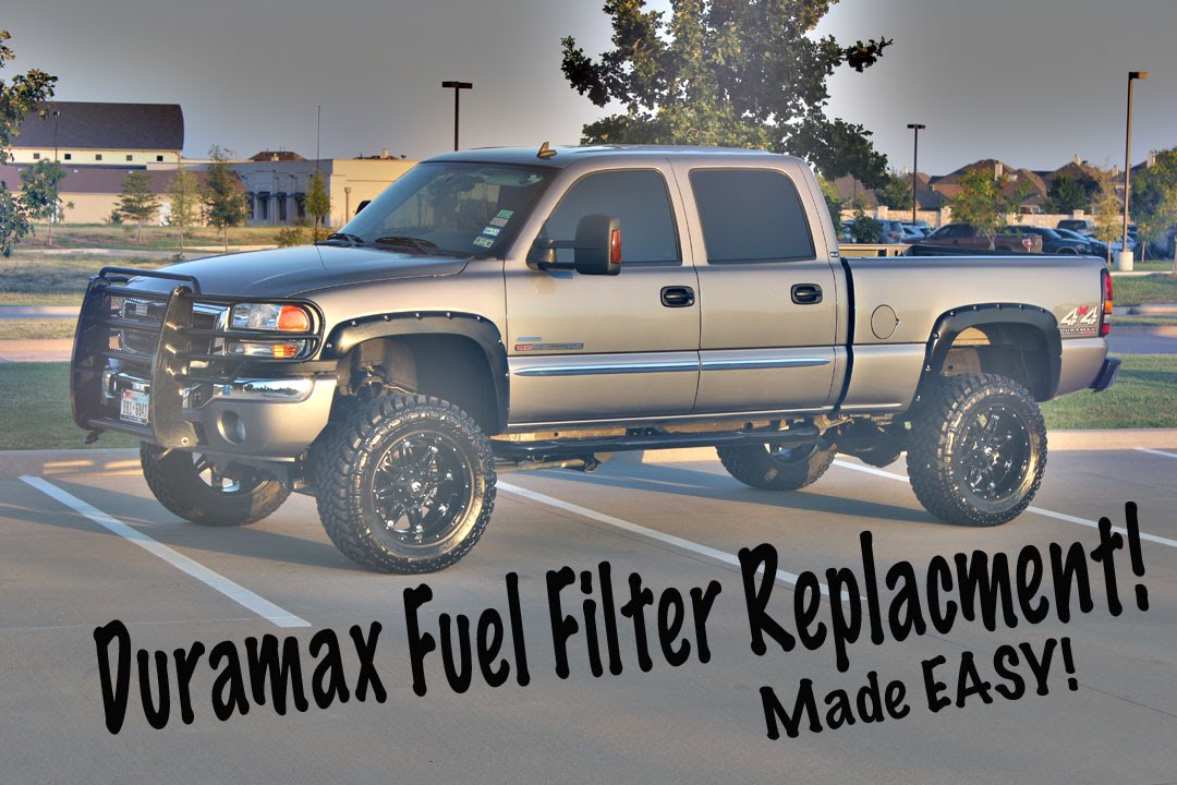 Easy Duramax Fuel Filter Replacement!