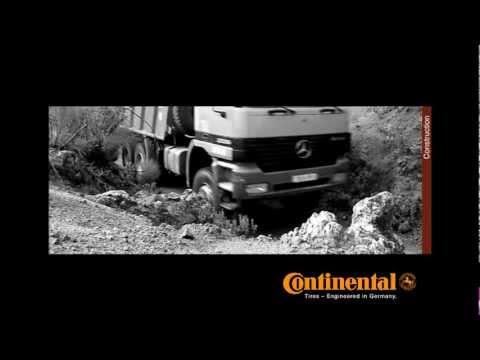 ES Continental Truck Tires Construction Image Movie