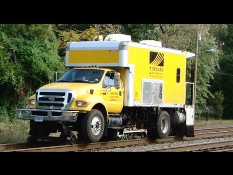 Sperry Rail Road Service Truck