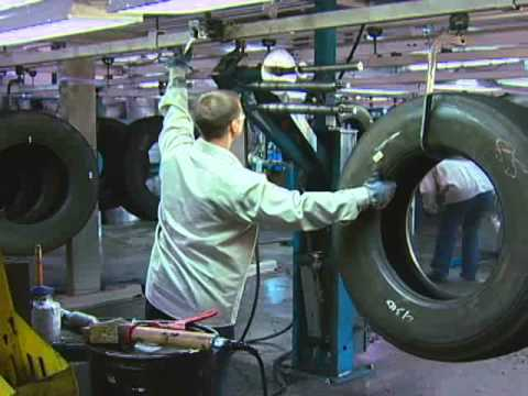 Retread Tire Factory Tour, from CalRecycle