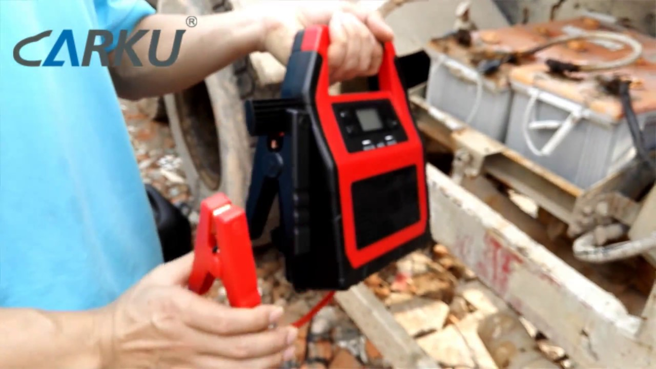CARKU: How to Start 24V Diesel Truck Jump Starter?