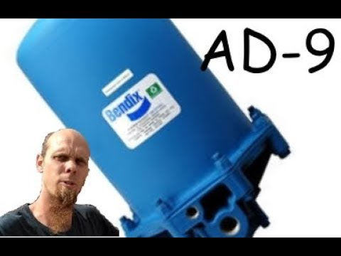 bendix ad 9 air dryer replacement
