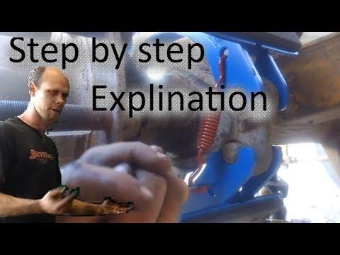 how I change semi brakes in 6 mins