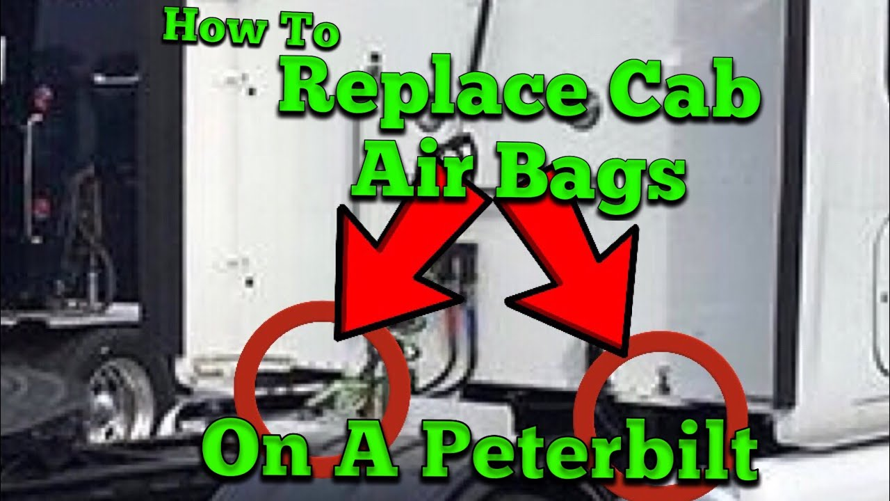 Cab Air Bag Replacement on a Peterbilt