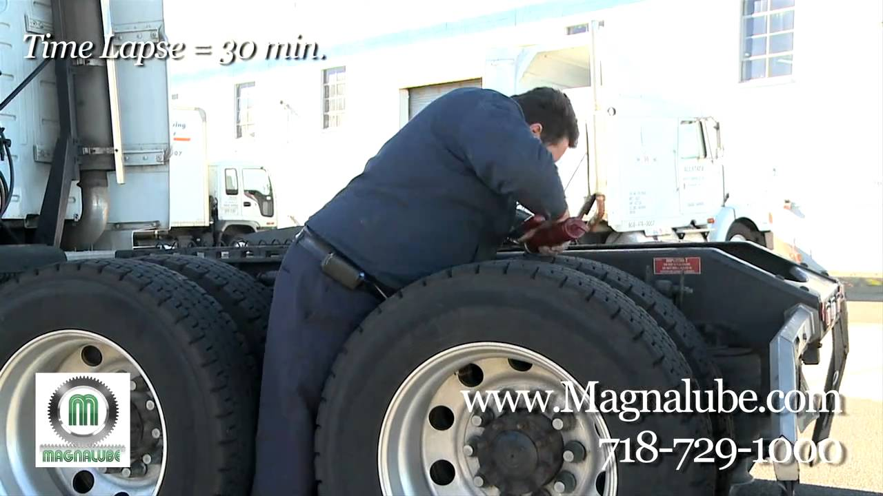 How To Grease Trucks: Truck Maintenance with Magnalube-GX Extreme Pressure Grease (Intro)