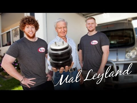 Mal Leyland talks Airbag Man Suspension & how they solved his tail scraping problems