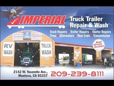 #1 Semi Truck Trailer Repair Ripon CA   Call 209-239-8111