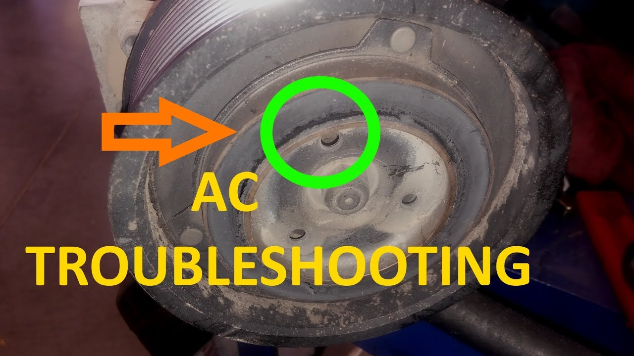 Air Conditioning Basic Troubleshooting.  AC Beginners Course.  Truck AC Class Part 3