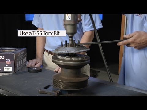 Removing Horton® DriveMaster® Fan Clutch Friction Plate