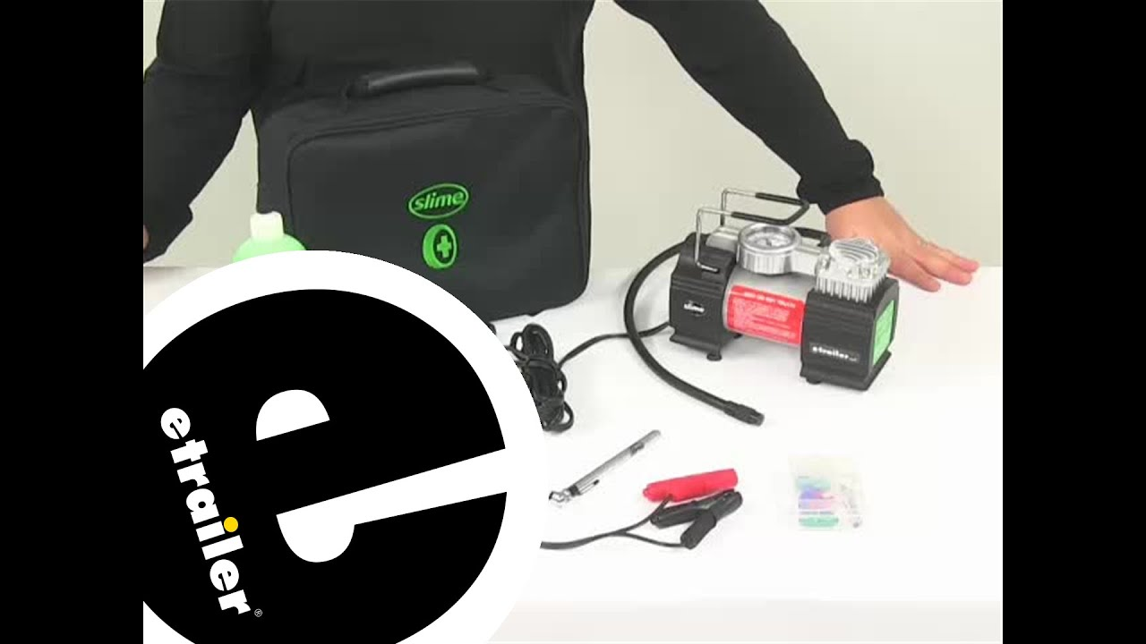 Slime Tire Inflation and Repair - Spare Tire Alternative - SLM50063 Review - etrailer.com
