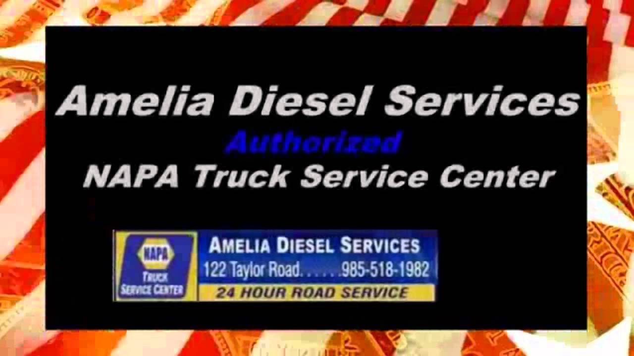Truck and Tire Repair 24 Hour Roadside Service | Amelia Diesel Services Houma, LA
