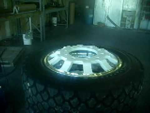 Alcoa w/ Goodyear G 164 semi Mud tires
