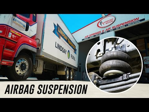 semi truck air bag replacement