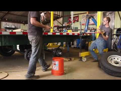 semi trailer axle repair
