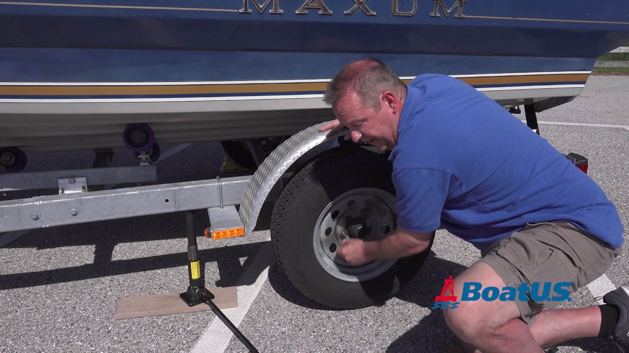 How To Fix a Flat Tire on a Boat Trailer   BoatUS Magazine
