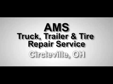 semi truck tire repair