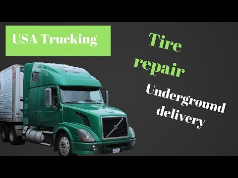 tire repair semi truck