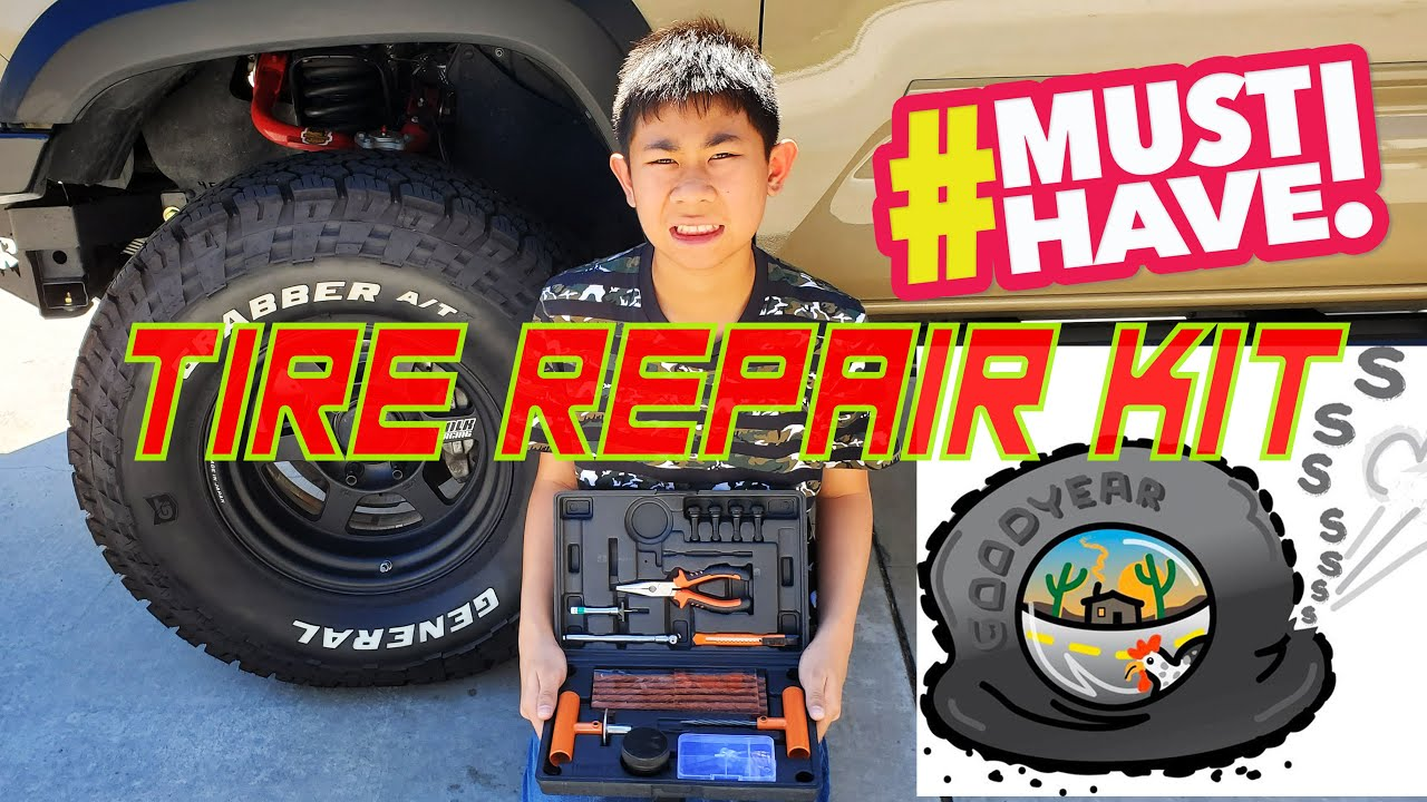 A MUST have... Tire Repair Kit! Fix Your Flat Tire!