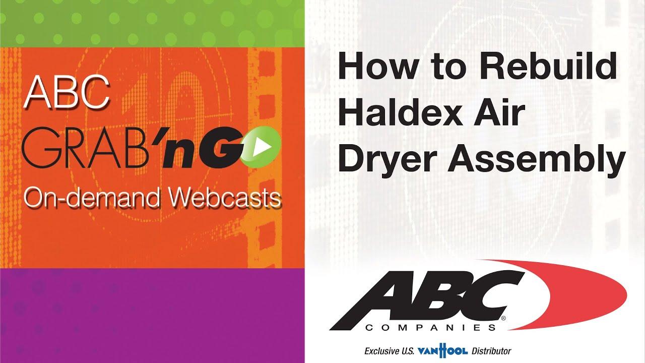 GG021 Grabn'Go: How to Rebuild Haldex Air Dryer Assembly