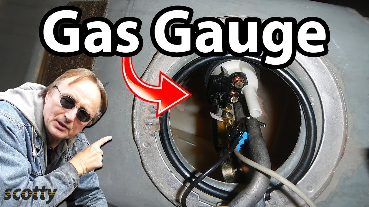 How to Fix a Gas Gauge (Sending Unit Replacement) - DIY Car Repair with Scotty Kilmer