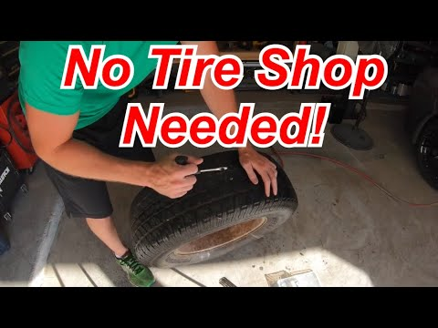 DIY Tire Repair - Fix your own flat FAST!