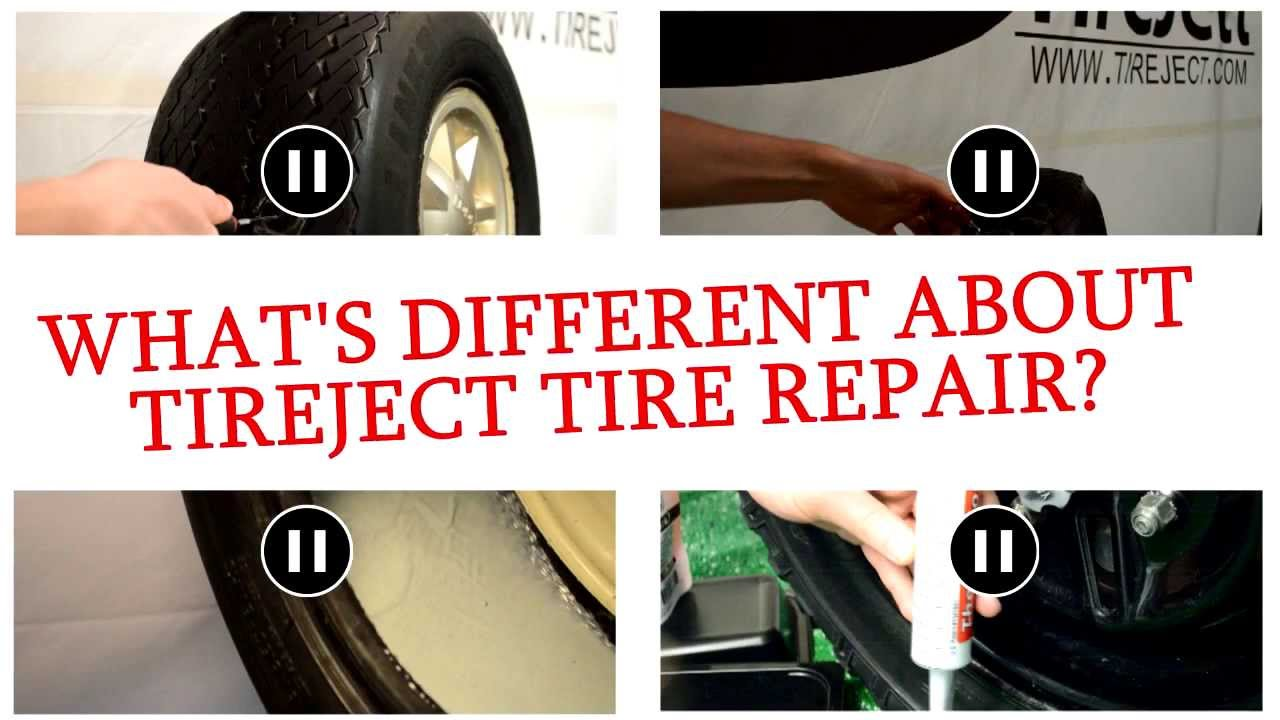 TireJect Tire Repair - How we are different promo