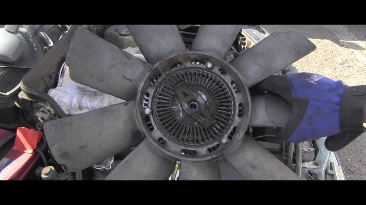 How To Replace Cooling Fan Clutch on Mercedes