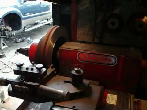 Rotor Cutting for F-150 Brake Job