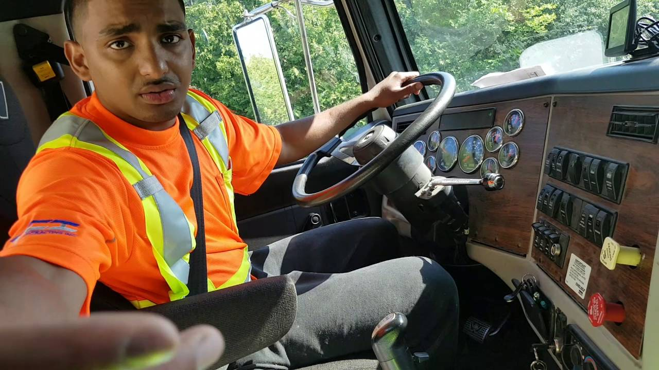 Trucker - How to Drive a 10 speed manual transmission truck. Part 2 - SHIFTING WITH NO CLUTCH!