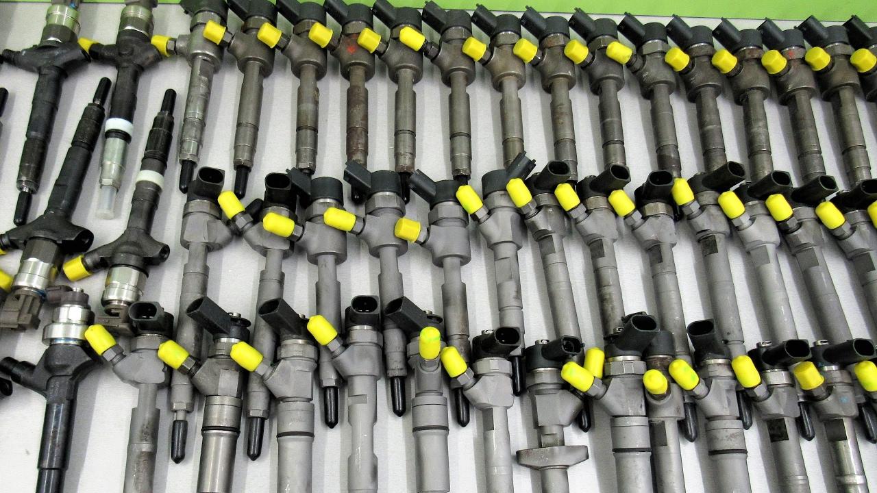 Diesel pump VP44 test
