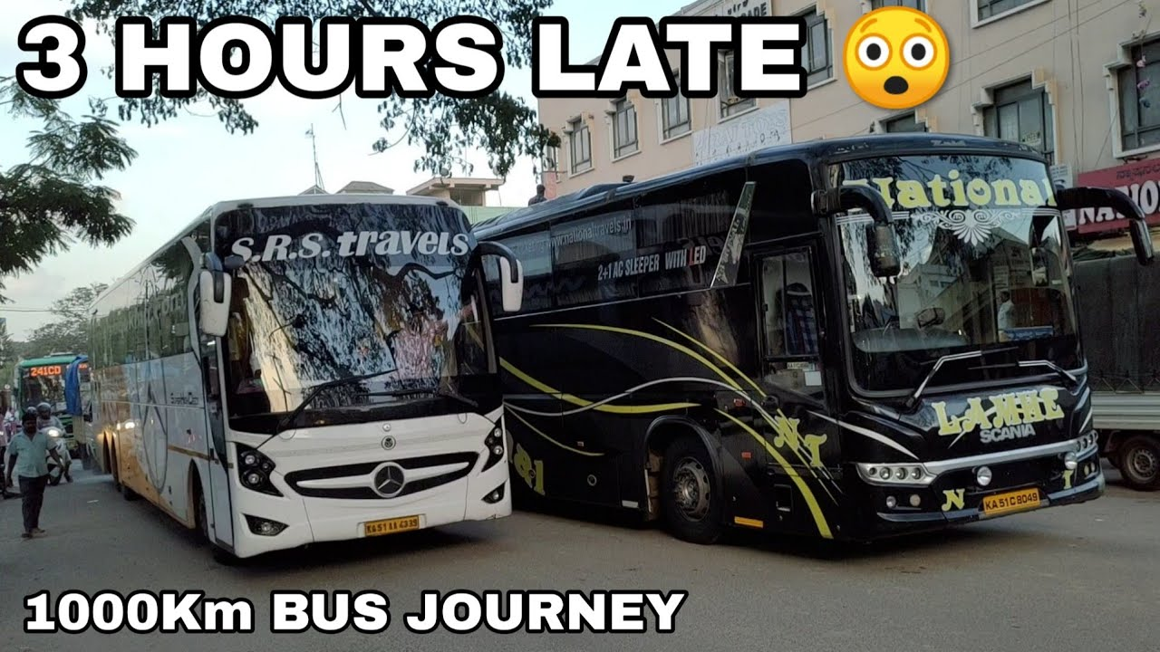 Bangalore to Mumbai in Scania Sleeper Bus National Travels - LAMHE